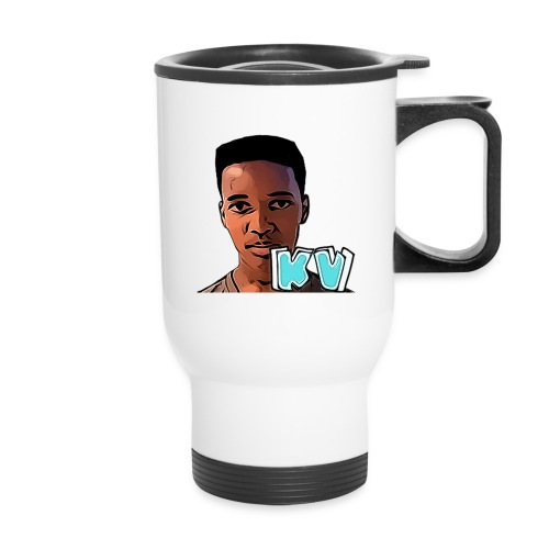 KevinsVids Face Logo - Travel Mug
