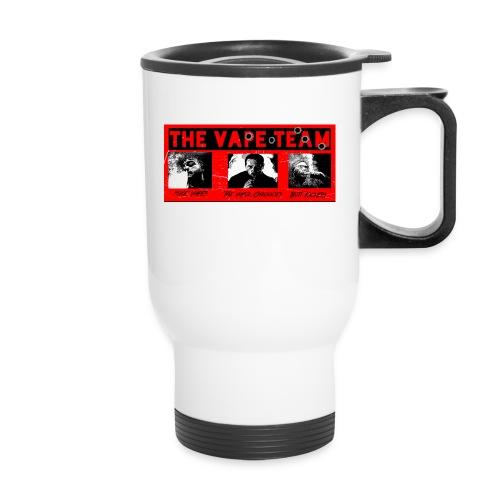 The Team shirt.png - Travel Mug with Handle