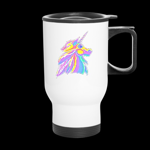 Pixellent Unicorn - Travel Mug