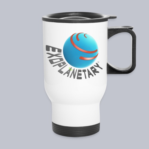 Logo for Light Background - Travel Mug