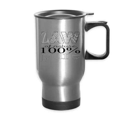 LAW of Nature 100% Pure - Travel Mug