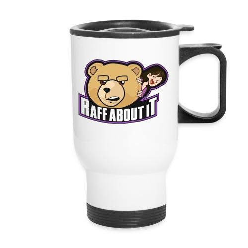 RaffAboutIt Logo png - Travel Mug