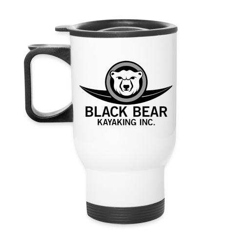 Black Bear Kayak Tank Top - Travel Mug with Handle