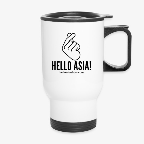 Hello Asia Logo clear png - Travel Mug