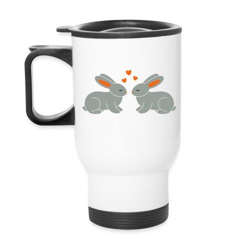 Rabbit Love - Travel Mug