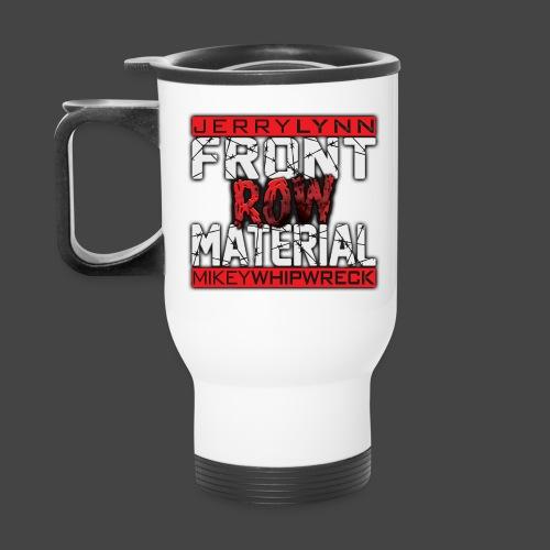Front Row Material Logo - Travel Mug