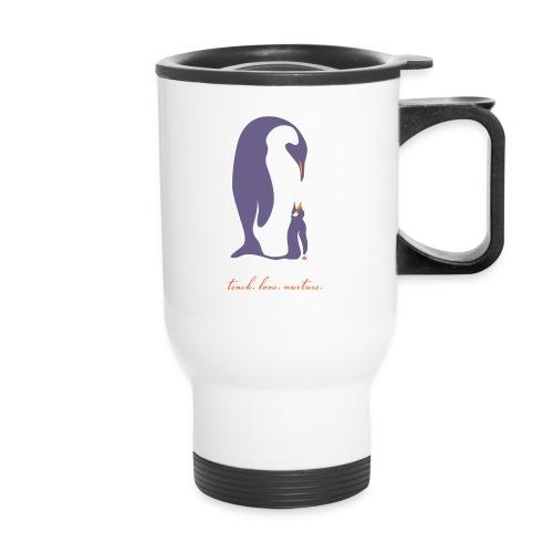 Teach, Love, Nurture - Travel Mug with Handle