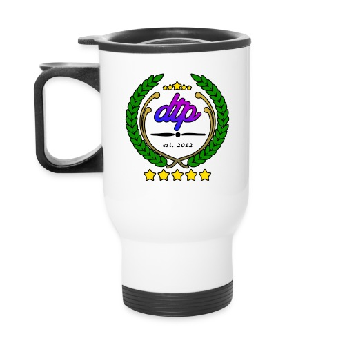DTP new wreth png - Travel Mug