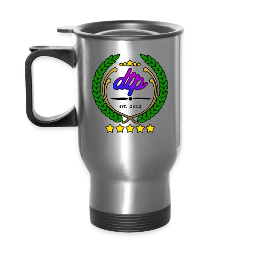 DTP new wreth png - Travel Mug
