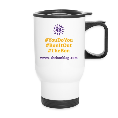 Bon Shirt Back purple ora - Travel Mug
