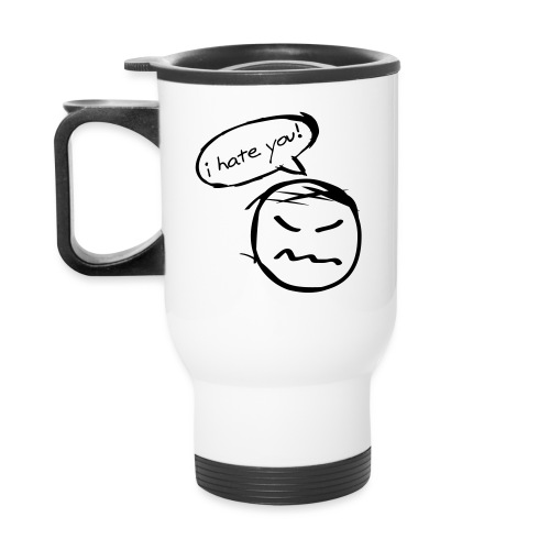 Kicky Head - Travel Mug