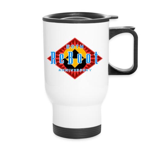 ReBoot Logo Anniversary cc - Travel Mug
