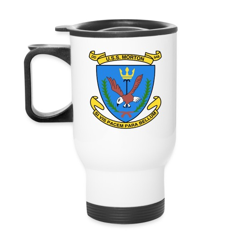 USS MORTON DD 948 CREST - Travel Mug