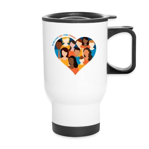 Living Rare, Living Stronger 2021 - Travel Mug
