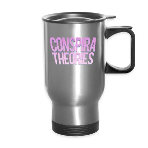 Women's - ConspiraTheories Official T-Shirt - Travel Mug