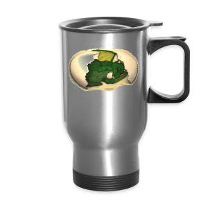 The Emerald Dragon of Nital - Travel Mug