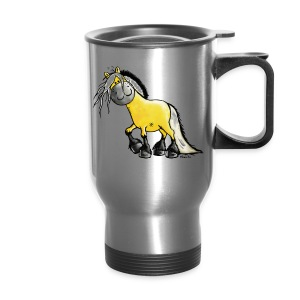 fjord_horse - Travel Mug