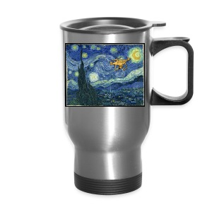 Starry Night Drone - Travel Mug
