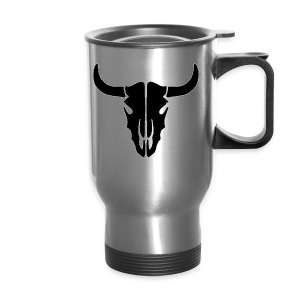 Longhorn skull - Travel Mug