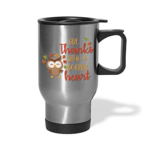 Give Thanks - Travel Mug