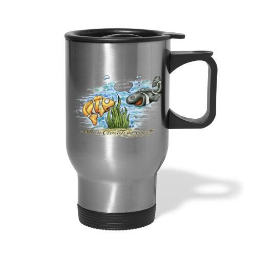 when clownfishes meet - Travel Mug