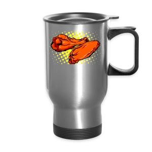 hot chiken acceries - Travel Mug
