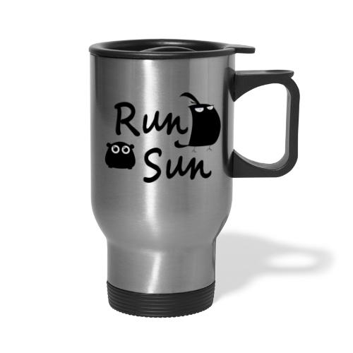 Run Sun Logo - Travel Mug