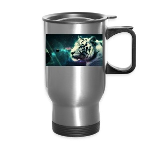 White_tiger - Travel Mug