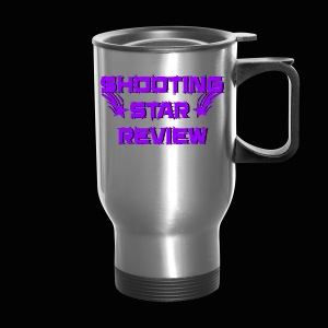 Shooting Star Review Purple Logo - Travel Mug