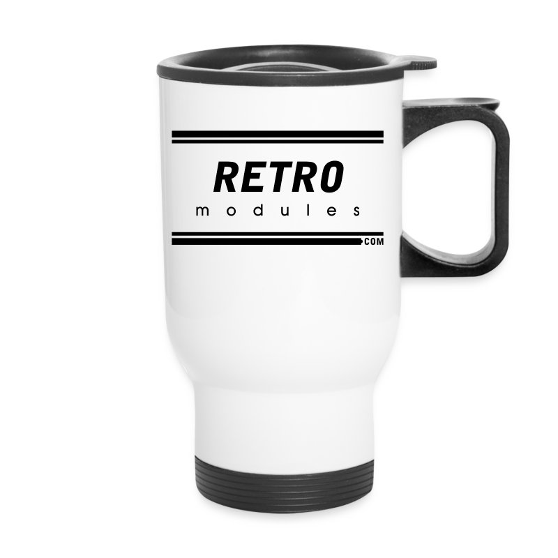 Retro Modules - Travel Mug