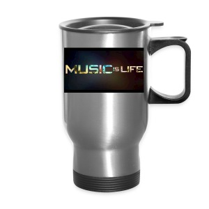 Music quote t-shirt - Travel Mug
