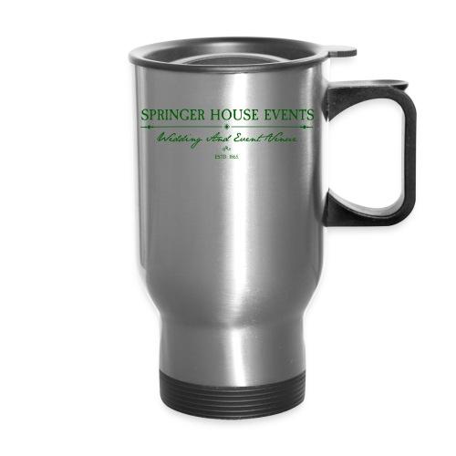 Springer House Events Sign Green - Travel Mug