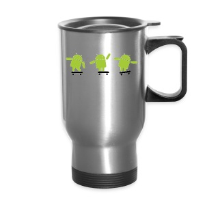 android logo T shirt - Travel Mug