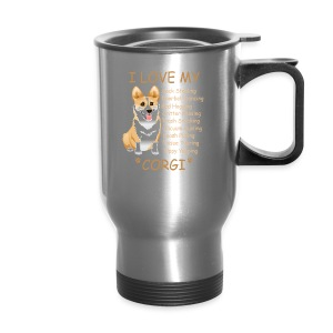 I Love My Corgi - Travel Mug