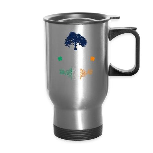 ALASKAN WITH IRISH ROOTS - Travel Mug