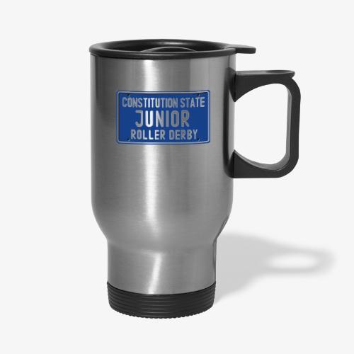 Constitution State Junior Roller Derby - Travel Mug