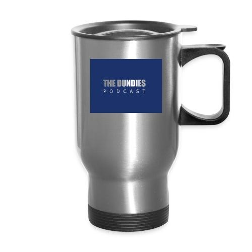 Dundies Podcast Logo - Travel Mug