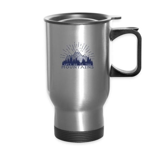 Adventure Mountains T-shirts and Products - Travel Mug