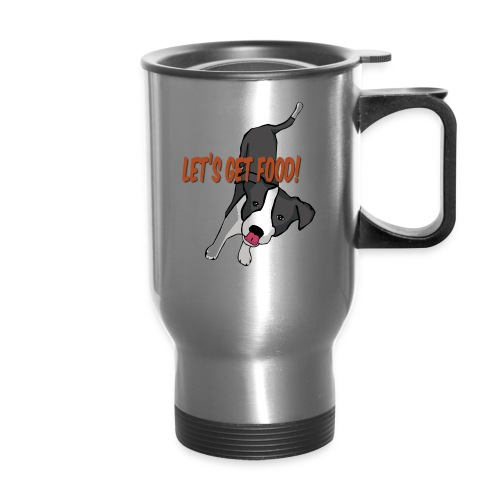 Foodie Dog Border Collie - Travel Mug