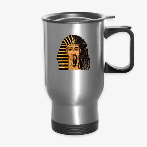 Pharaoh Egypt Love - Travel Mug