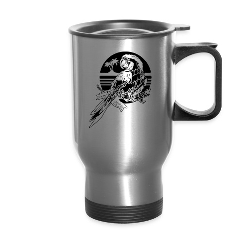 Tropical Parrot - Travel Mug