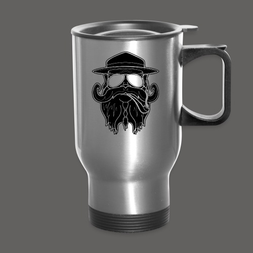 OldSchoolBiker - Travel Mug