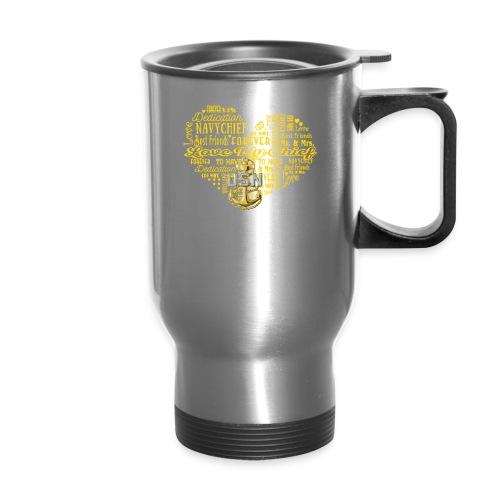 US Navy Chief Wife - Travel Mug