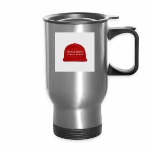 make racists afraid again snap back baseball cap - Travel Mug