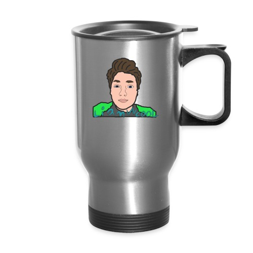 LiamWcool head tee - Travel Mug