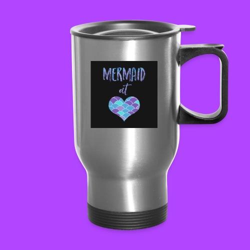 mermaid at heart - Travel Mug