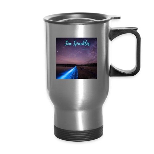 Tasmanian Sea Sparkles - Travel Mug