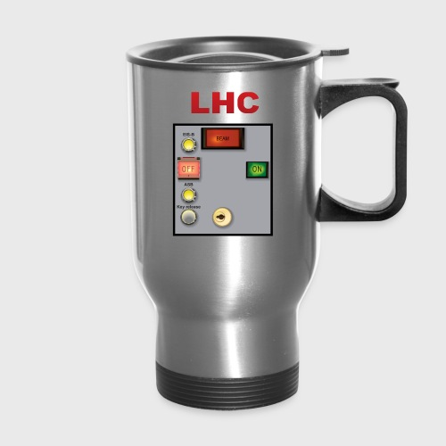 LHC Large Hadron Collider - Travel Mug