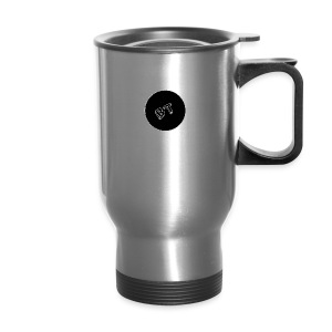 DJ BeatT BT Black logo - Travel Mug