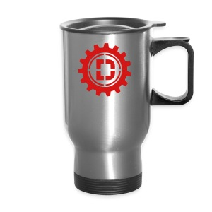 Stacked Logo - Travel Mug